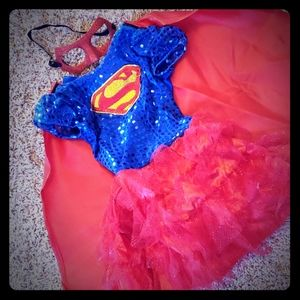 Toddler Super girl tutu costume size small